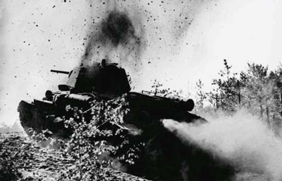 Как поджечь танк
