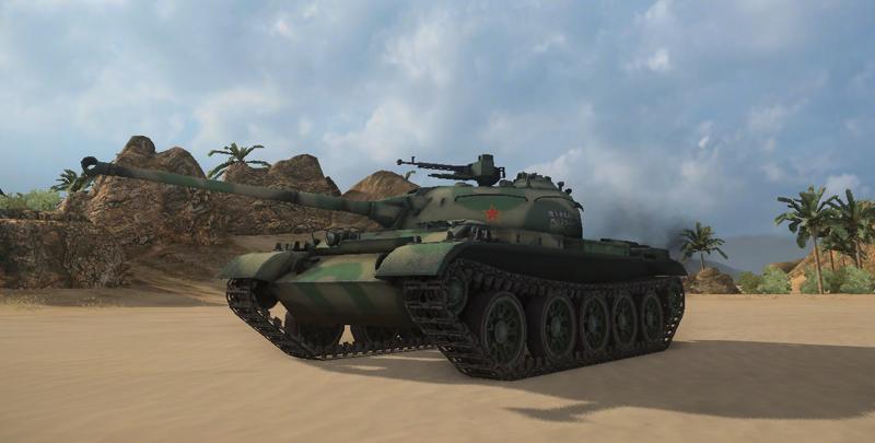 WZ-131 World of Tanks