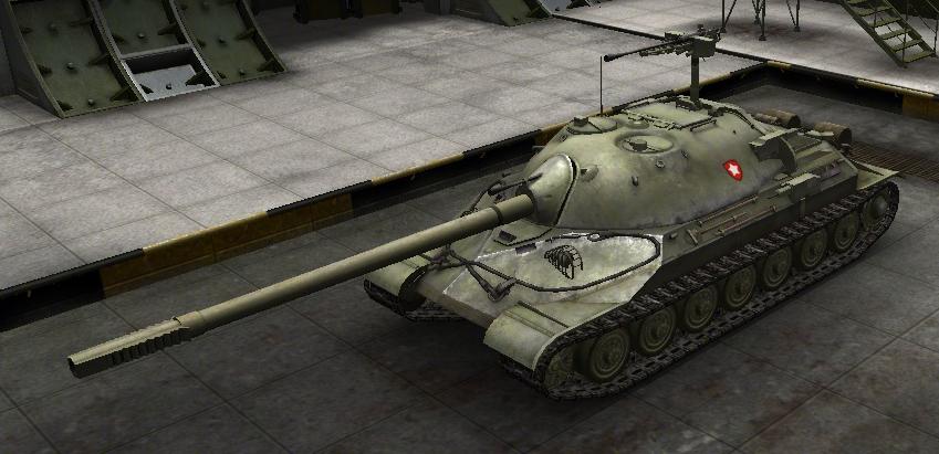 ИС-7 Мир танков