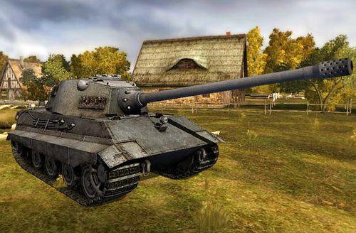 e-75 мир танков