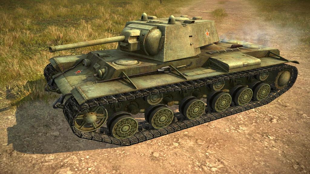 КВ-1 в WOT