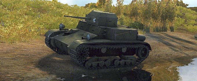 Т2 Light Tank в Мире Танков