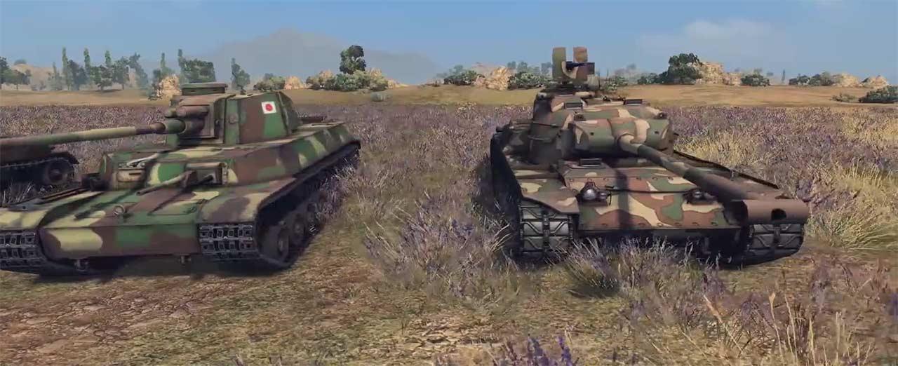 Лучший японский танк в World of Tanks