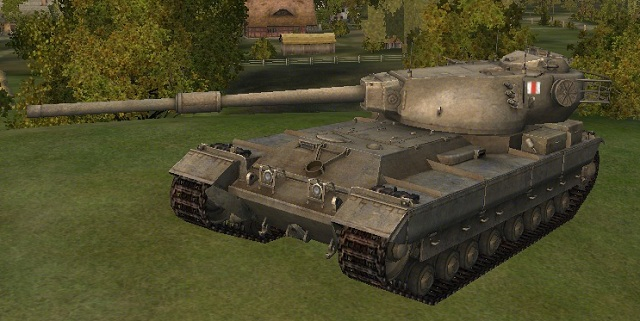 Танк FV215b в World of Tanks ПТ