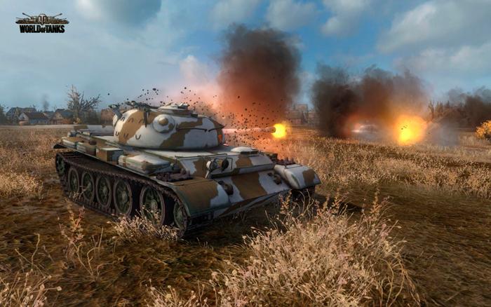 Самый скорострельный танк в World of Tanks