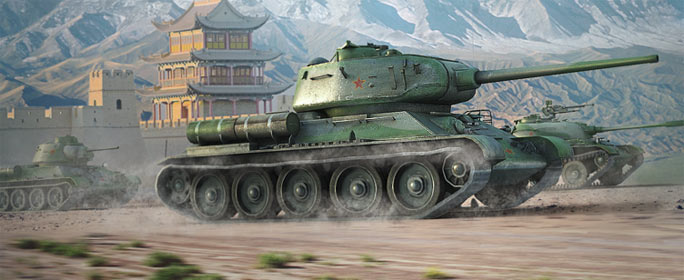 Лучший китайский танк в World of Tanks