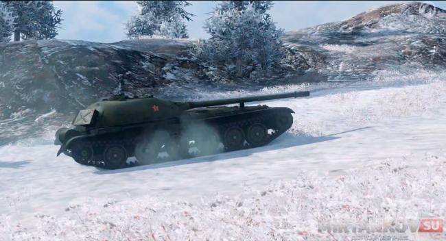 Объект 416 незаметный танк в WoT