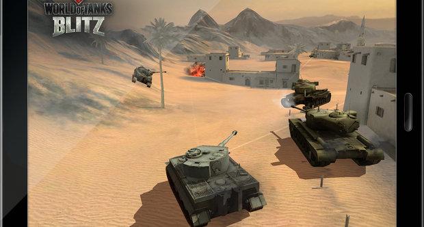 Игра World of Tanks Blitz на андроиде
