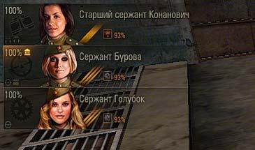 Женский экипаж в Мир Танков