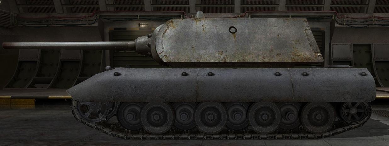 Обзор танка е100 World of Tanks