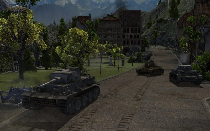 Ротные бои в World of Tanks