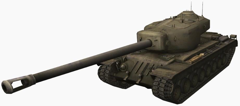 Тяжелый танк США Т34