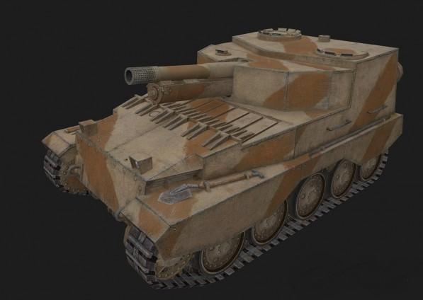 САУ fv304 в игре World of Tanks
