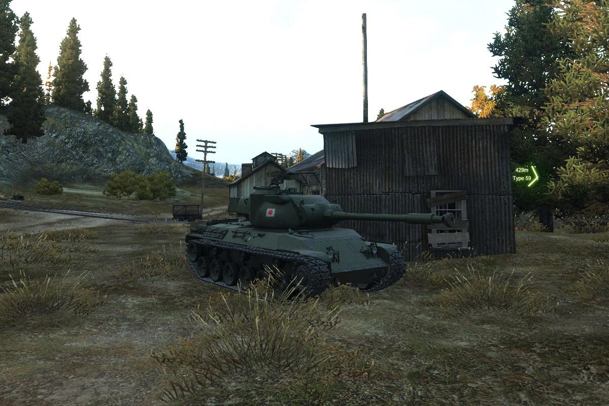 STA 2 танк Японии