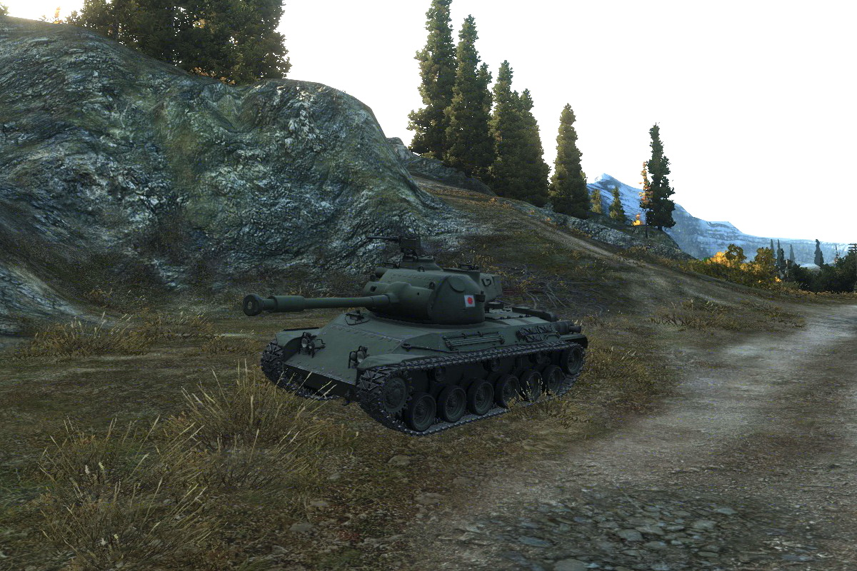 Японский танк STA 2 в WoT
