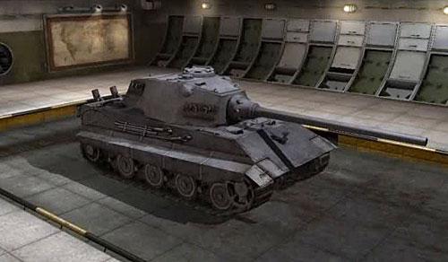 Е-75 в игре WoT