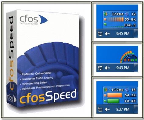 Программа cFosSpeed для уменьшения пинга в играх