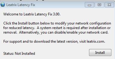 Инсталлируем Leatrix latency fix
