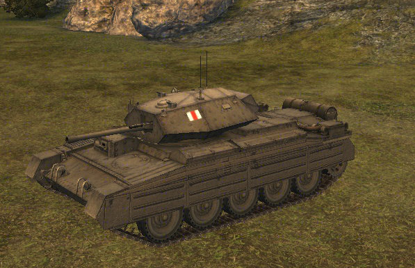 Crusader в World of Tanks