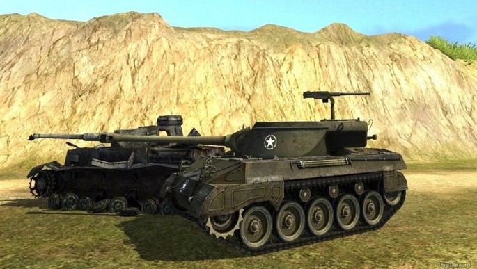 Hellcat в World of Tanks