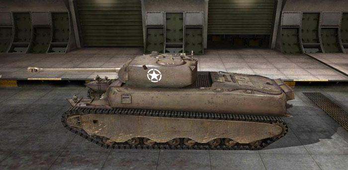 Танк М6 в Мире Танков