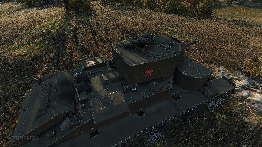 Танк Т-29 в WoT