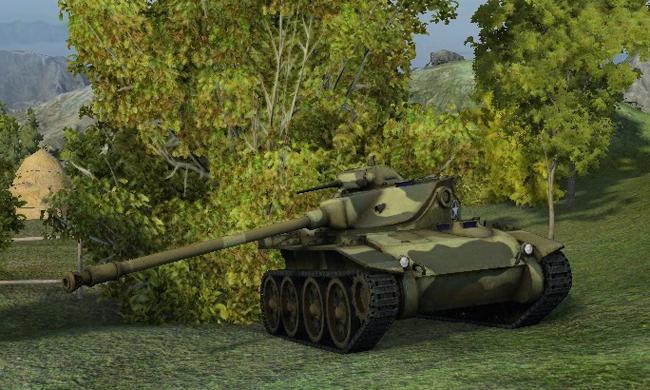 Легкий танк Т-71 в World of Tanks