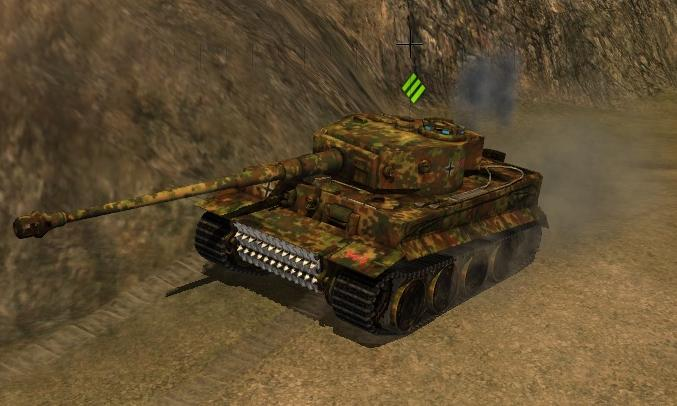 Tiger-1 в World of Tanks