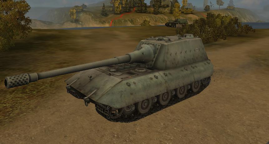 Немецкая ПТ JagdPz-E-100
