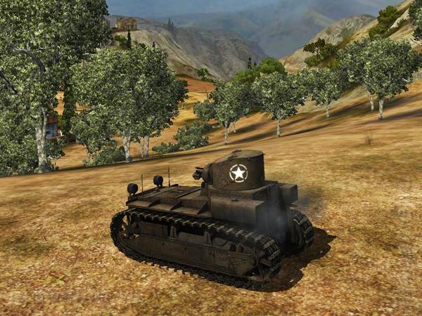 Американский ЛТ T-1