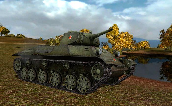 Т-127 в Мире Танков