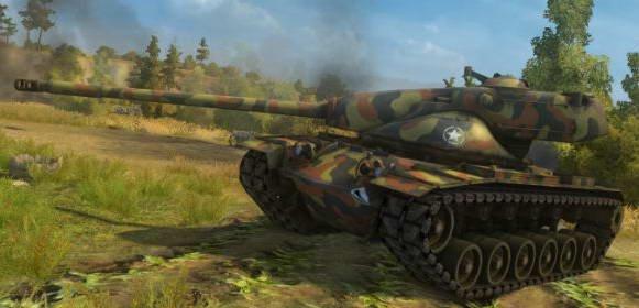 Американский танк Т-57-Heavy