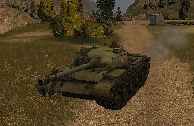 Советский СТ Т-62А
