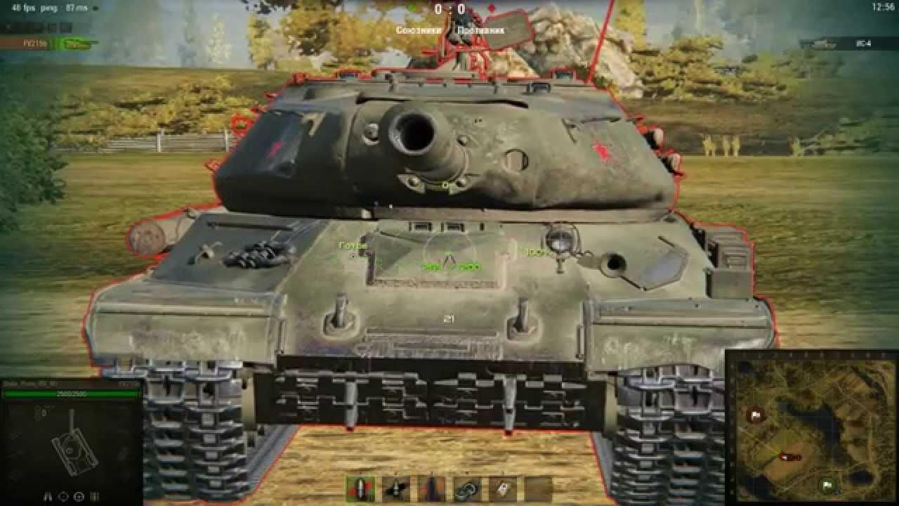 ИС-4 в игре