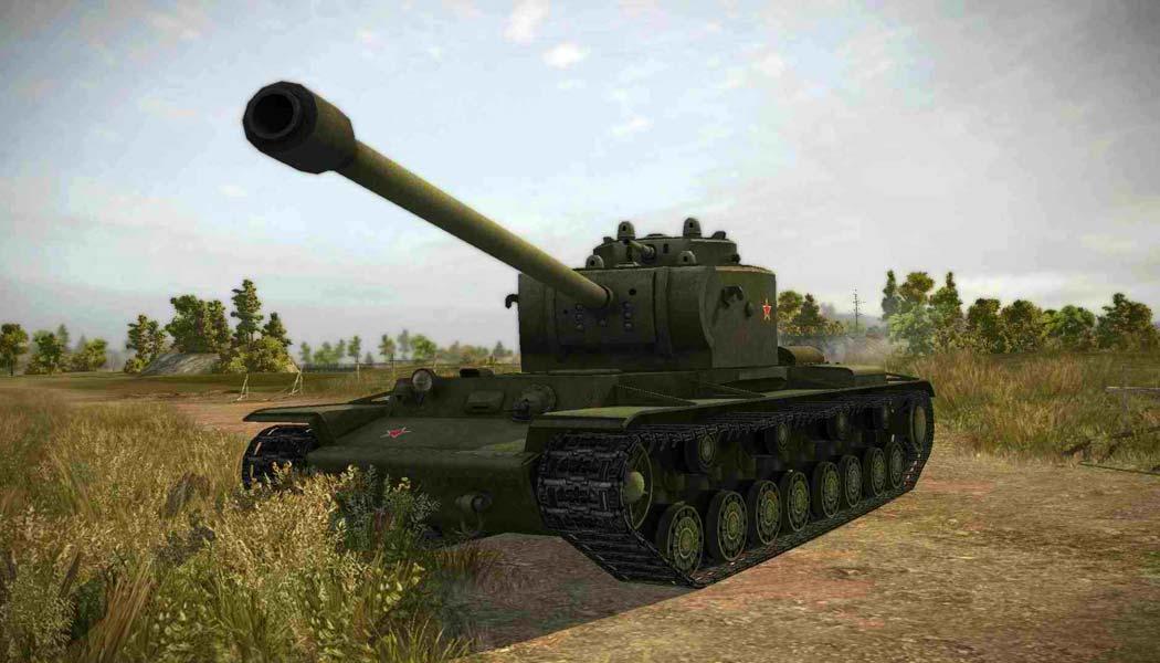 Танк КВ-4 в WoT