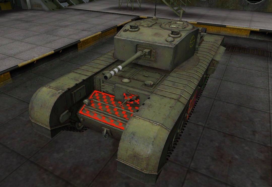 Танк Черчилль 3 в World of Tanks - что это за зверь
