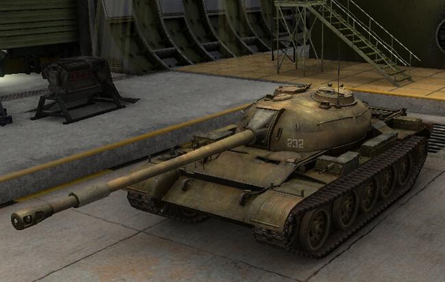 Танк т-54 в World of Tanks