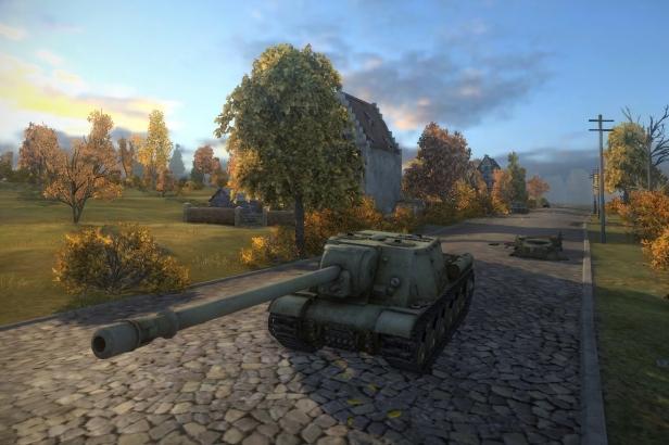 ИСУ-152 в игре