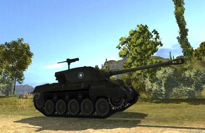 M18 Hellcat в игре