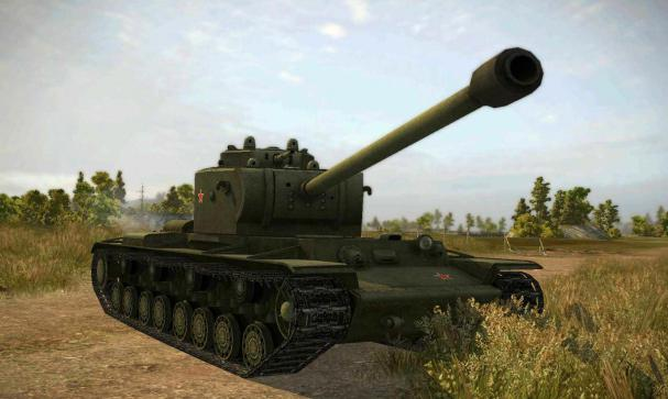 Танк КВ-4 в игре
