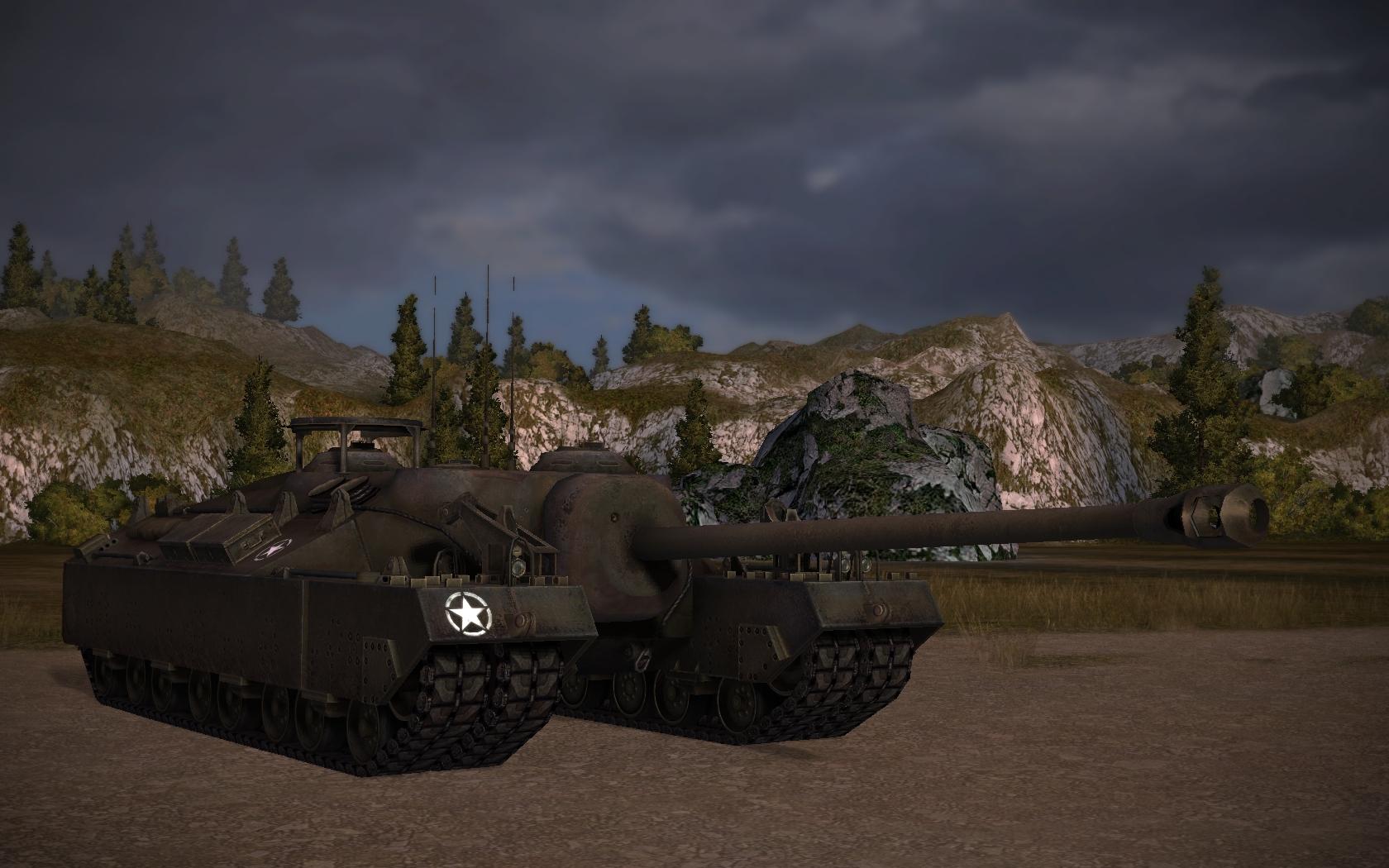 Т-95 в World of Tanks