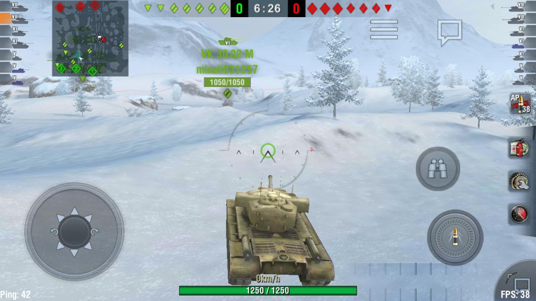 Игровой процесс в World of Tanks Blitz