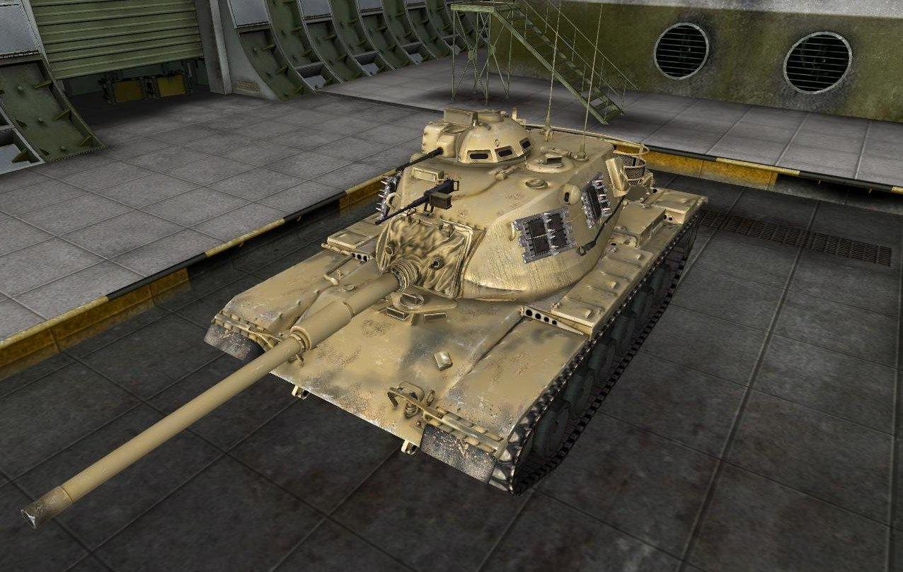 M48A1 Patton в World of Tanks