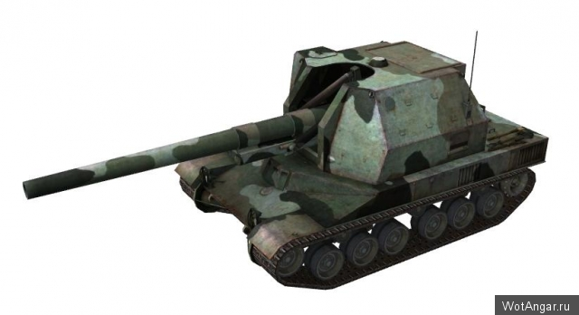 B.Chat 155 в World of Tanks