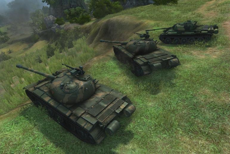 Ветка китайских танков в World of Tanks