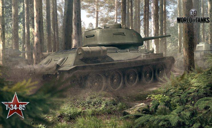 Танк т-34 в игре