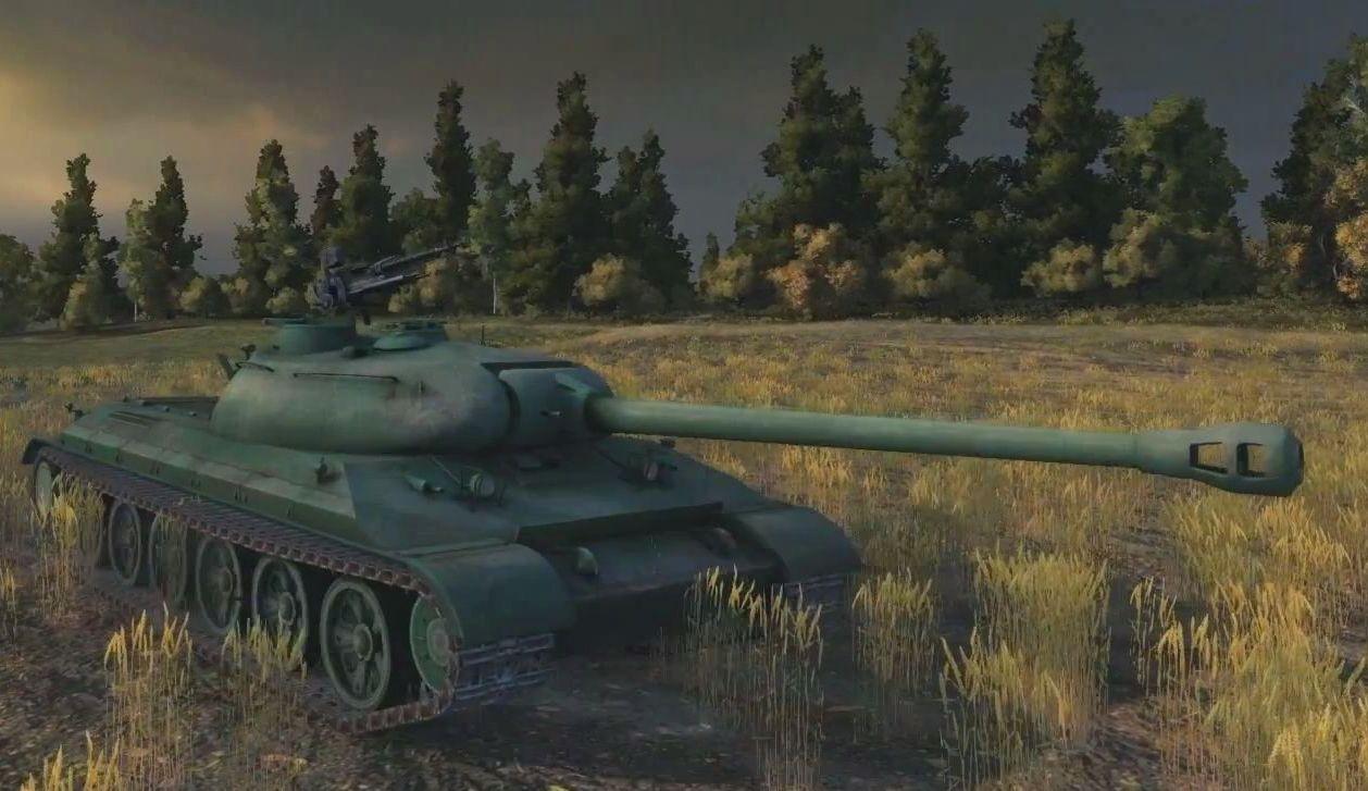 Танк WZ-111 в игре