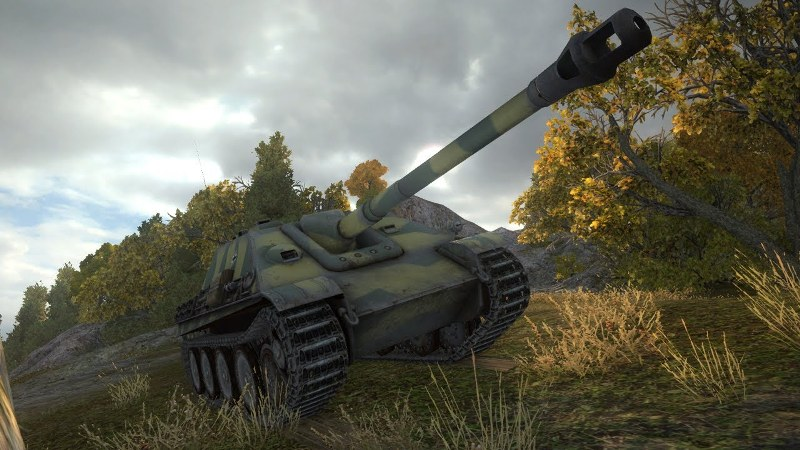 Jagdpanther в игре