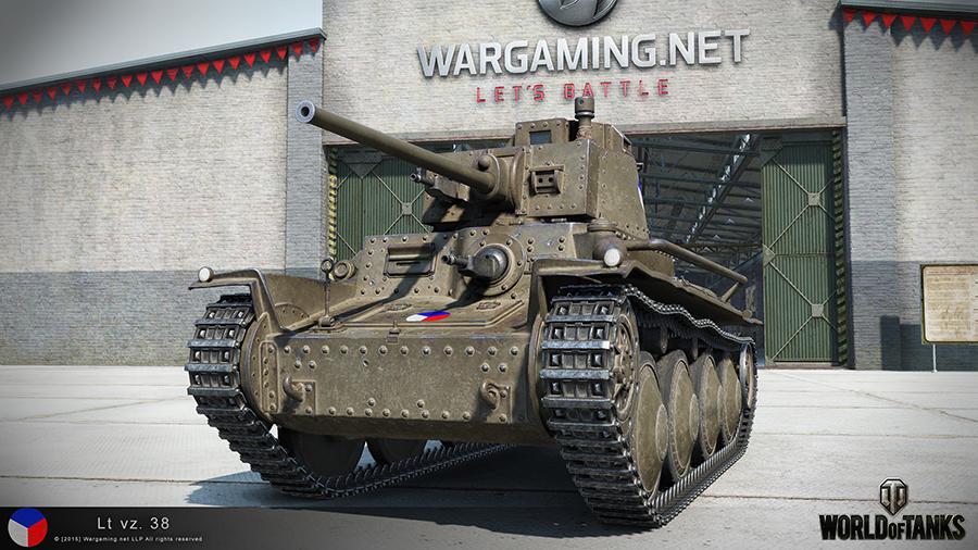 LT vz. 35 в игре