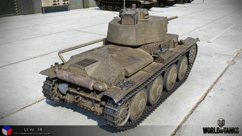 LT Vz. 38 в игре